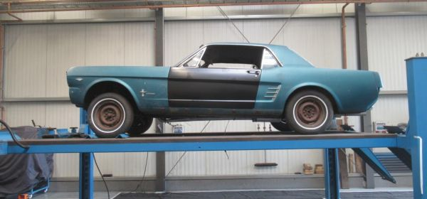 1. Ford Mustang Anlieferung