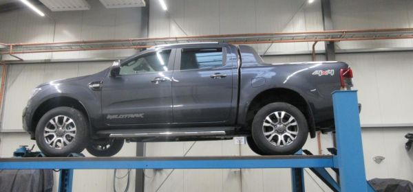 1. Ford Ranger  Anlieferung
